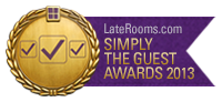 Laterooms Simply the Guest Award 2013